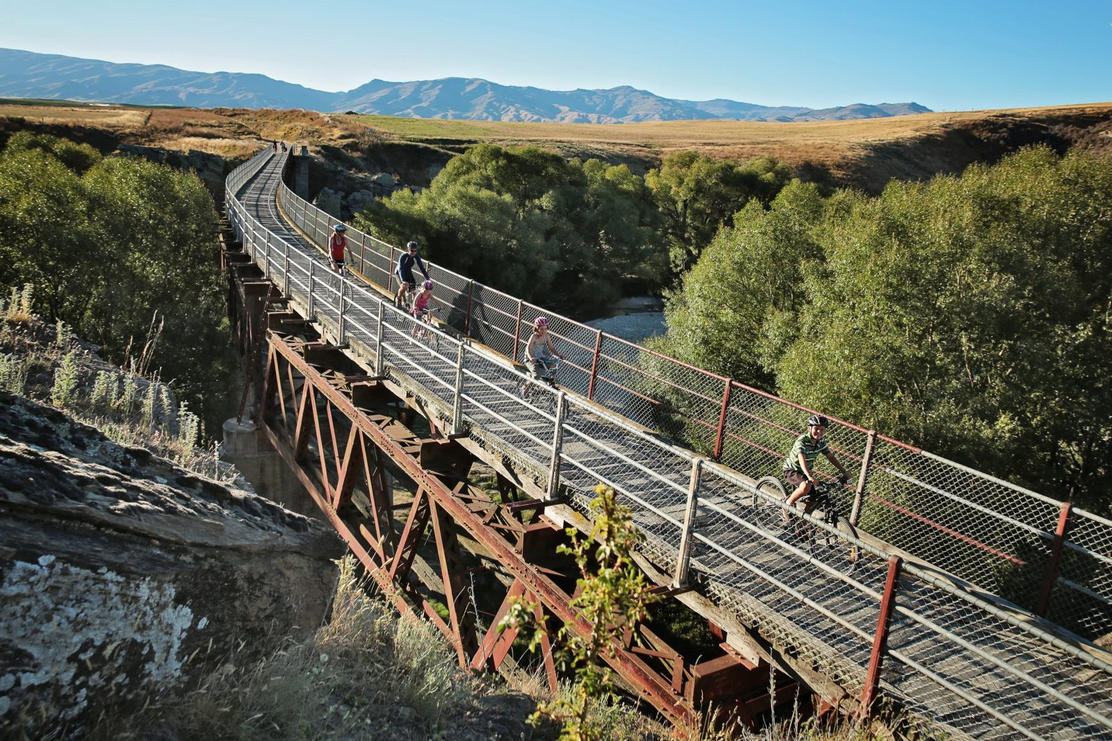Otago Central Rail Trail (credit: Otago central Rail Trail)